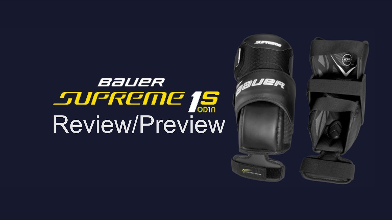 Bauer Supreme 1s Od1n Goalie Knee Pad Review Preview