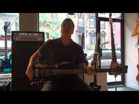Warwick Endorser Jason Scheff (Chicago) In NYC Showroom