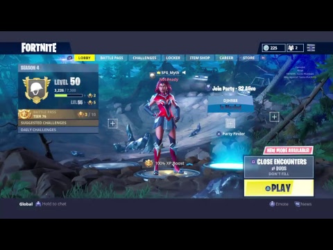 (Fortnite) Solo V Squads NEW Close Encounter game mode