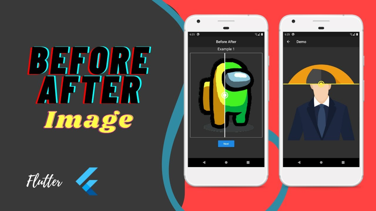 Flutter Before After Image Package Example