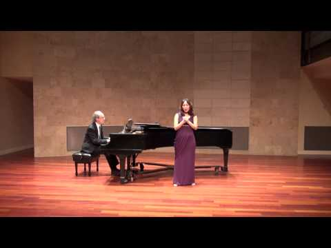 Le printemps (Hahn) - Crystal Kim Soprano SFCM Recital Hall