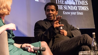 Denzel Washington on starring and directing in Fences
