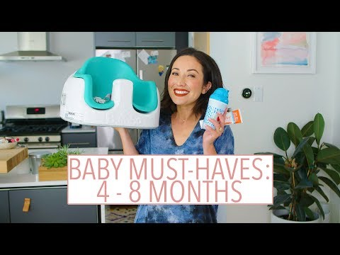 Baby Must-Haves: 4-8 Months Old | Susan Yara