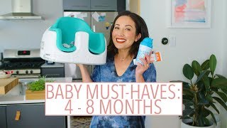 Baby Must-Haves: 4-8 Months Old | Susan Yara