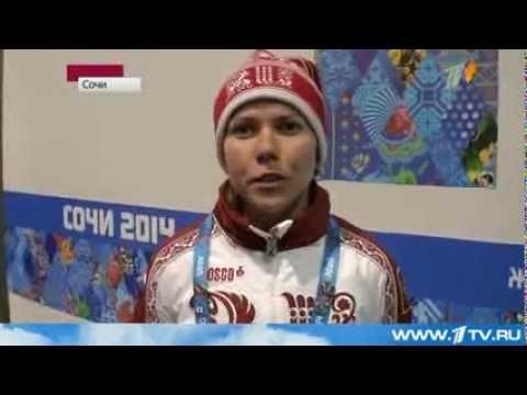 Конькобежка Ольга Граф принесла России первую медаль Олимпийских игр-2014, завоевав бронзу