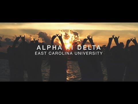 Alpha Xi Delta - East Carolina University 2017