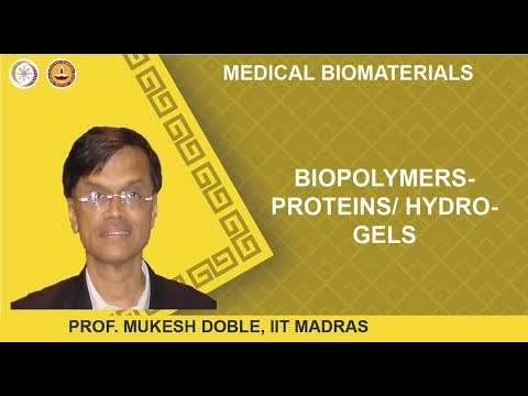 Biopolymers- proteins/ hydrogels