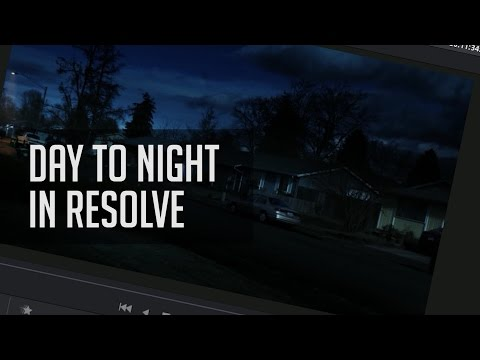 Tips For Day To Night Conversions in Resolve!