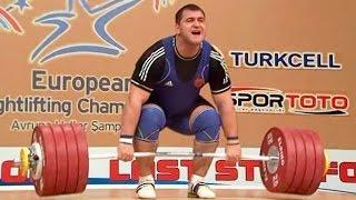 2012 European Weightlifting Championships, Men +105 kg \ Тяжелая Атлетика. Чемпионат Европы