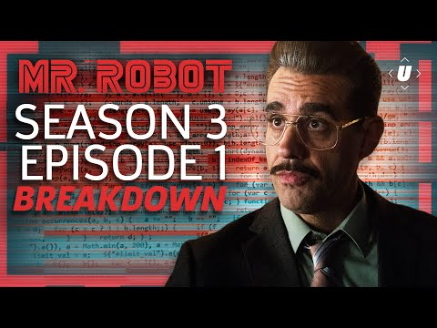 Download Youtube: Mr. Robot Season 3 Episode 1 Breakdown!