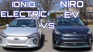 Hyundai Ioniq Electric vs Kia Niro EV
