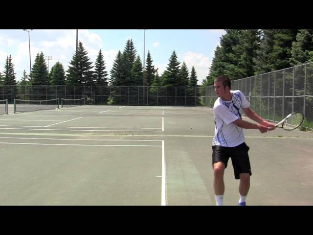 Tim Larson - College Tennis Recruiting Video