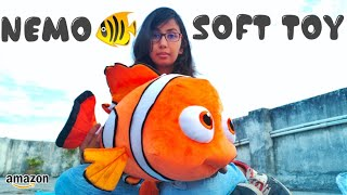Nemo Fish Soft Toy Unboxing Fish Stuffed Toy Best Birthday Gift For Kids Jyoti Toys Review