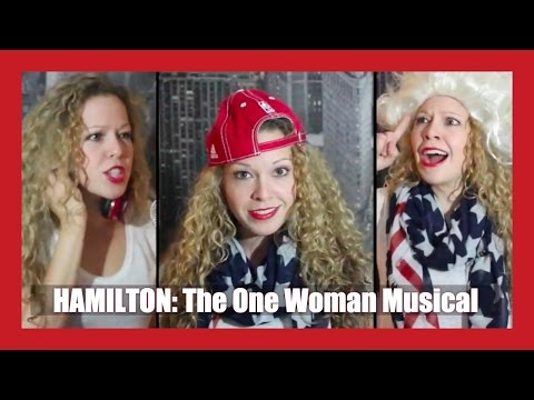 HAMILTON - Guns & Ships Cover (One Woman Musical by Kathryn