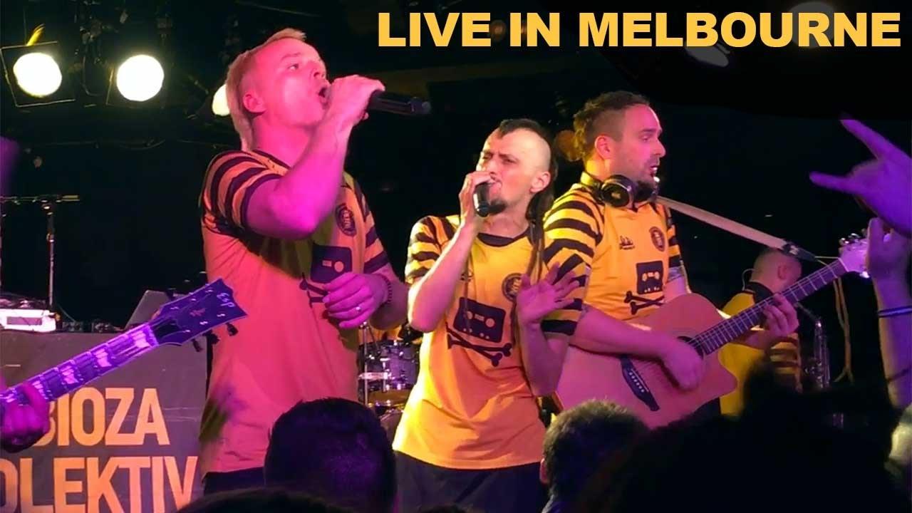 Dubioza Kolektiv - Brijuni - Live in Melbourne (The Corner Hotel) - 22 Dec 2016