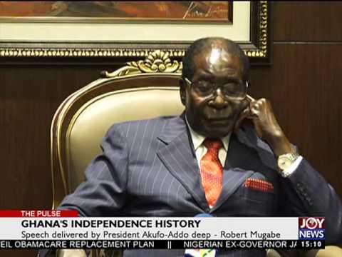 Robert Mugabe on Ghana