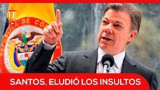 Reacciones luego de que el expresidente Santos fuera insultado en un avión | El Espectador