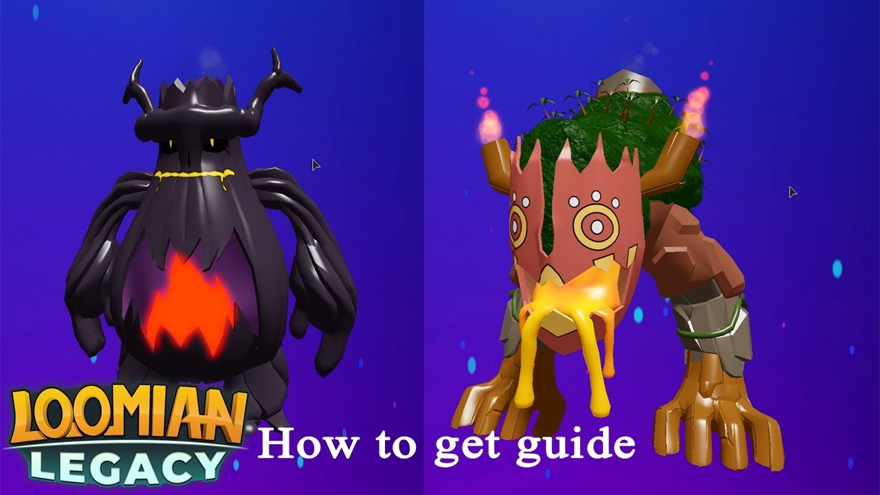 Roblox Loomian Legacy How To Evolve Kabunga And Craytal Into