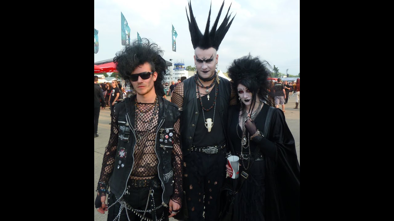 Gothic people - People from the Dark Scene - YouTube