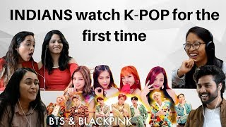 Indian MBA students react to K-POP for the first time (Blackpink & BTS)