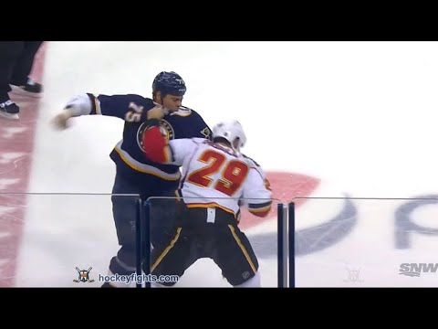 Deryk Engelland vs Ryan Reaves Dec 19, 2015