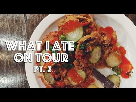 WHAT I ATE ON TOUR (VEGAN) PT. 2 (LOS ANGELES & SAN DIEGO)
