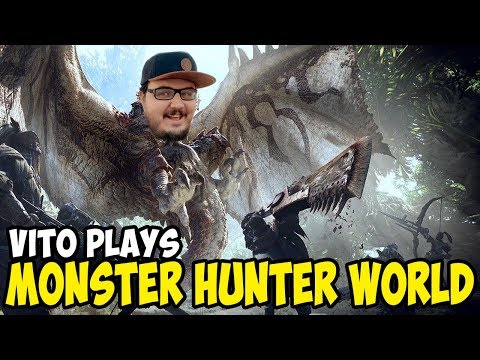 Vito Plays Monster Hunter World | Let's Murder Dinosaurs! thumbnail