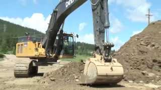 John Deere Construction Equipment, sales & testimonial video production