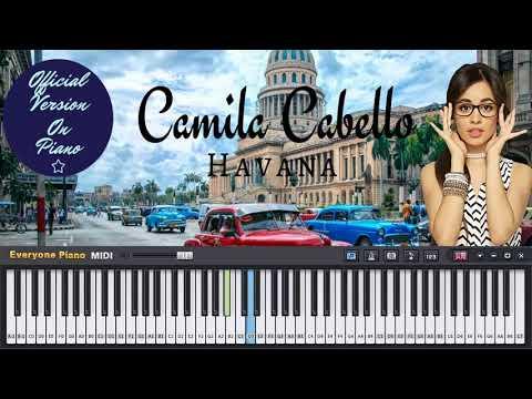 Camila Cabello - Havana (Official Piano Version) Ft. Young Thug