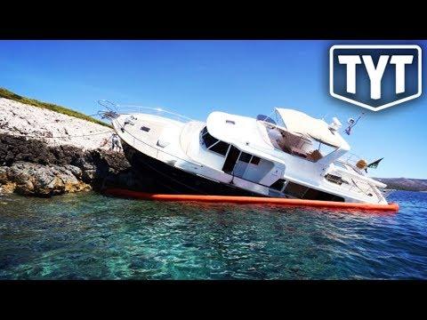 Betsy DeVos' Yacht Set Adrift By Vandals