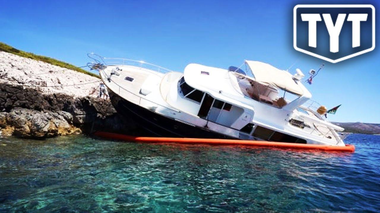 Betsy DeVos Yacht Set Adrift By Vandals