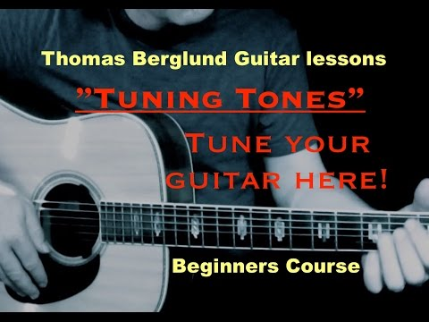 "Guitar tuning / ""Play Guitar"" Beginners course // Guitar lessons"
