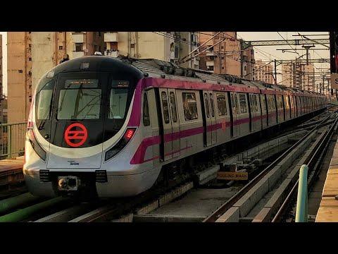 Delhi Metro Magenta Line Inaugural Run Full Coverage