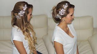 Dos peinados de novia muy fáciles con accesorios Glitz!
