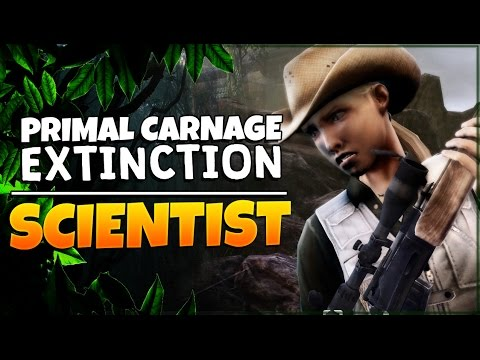 Primal Carnage: Extinction | Scientist Gameplay