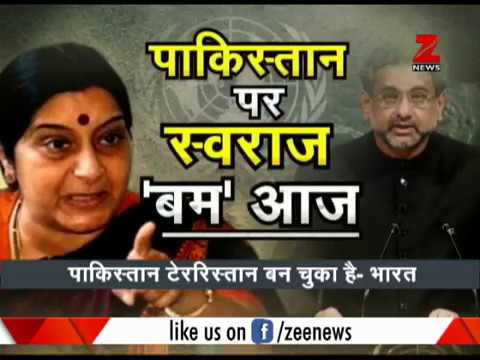 Sushma Swaraj to speak in UN general assembly today