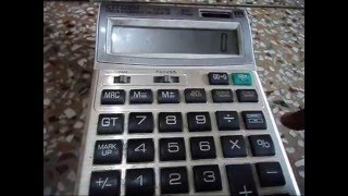 Turn Off Calculator Whick Have No Off Button