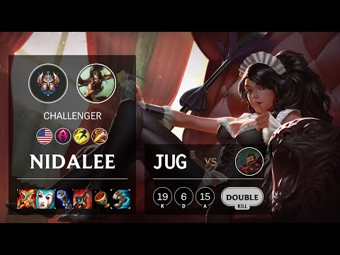 Nidalee Jungle vs Graves - NA Challenger Patch 10.16