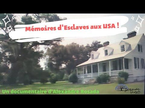 Mémoires de l' esclavage aux USA ( Etats UNIS d'Amérique) un film d'Alexandre ROSADA