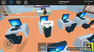 Roblox High School- Lunch break!
