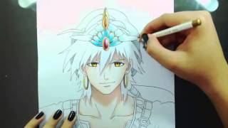 Speed Drawing - Sinbad (Magi: The Labyrinth of Magic)