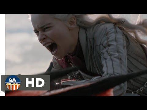 Убийство одного из драконов Дейнерис|Игра Престолов 8 сезон 4 серия