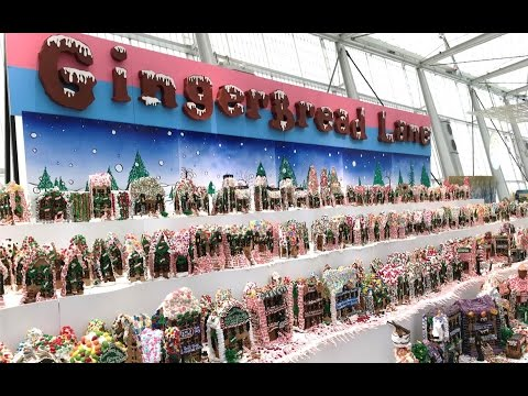 World's Largest Gingerbread Village | Holiday Cycle