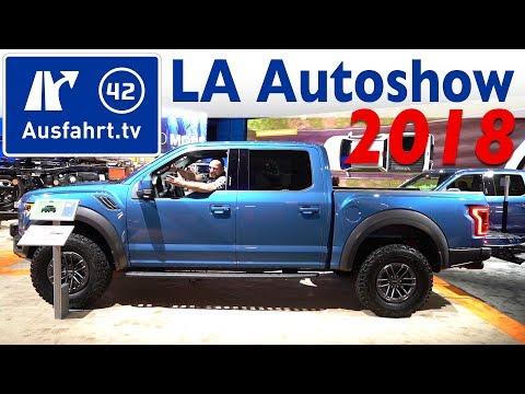 LA Auto Show 2018 - Messerundgang: Rivian, Ford, Kia, Mercedes, Audi, Jeep, VW, Dodge, Mazda, ...