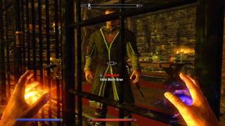 Skyrim Guide - Easy way to lvl 100 Pickpocketing (SUPER FAST)