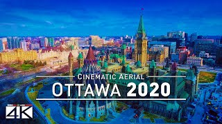 【4K】Drone Footage   Welcome to Canada - OTTAWA 2019 ..:: Cinematic Aerial Film   Ontario