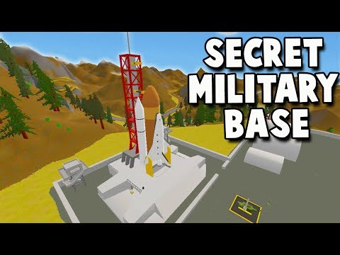 ZOMBIES INVADE Top Secret Government MILITARY BASE!  (Unturn