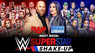 WWE SUPERSTAR SHAKE UP 2021 PREDICTIONS
