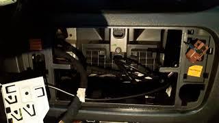 Как заменить подсветку средней консоли на ситроене с2