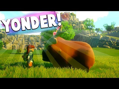 Yonder: The Cloud Catcher Chronicles - Animal and First Farm Guide | How to tame and raise animals!